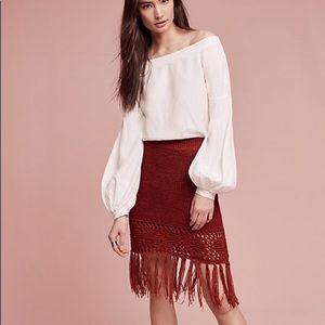 New! Boho skirt